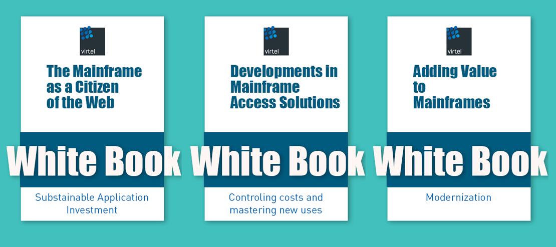Illustration for SysperTec's mainframe White Papers